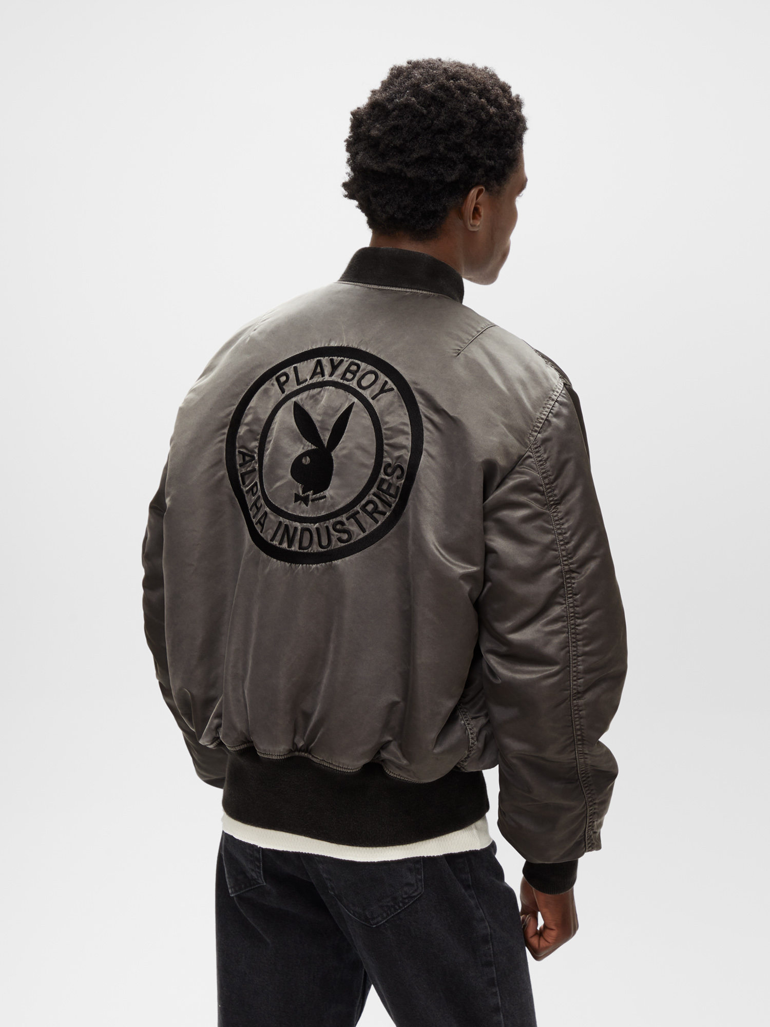 Alpha Industries x Playboy