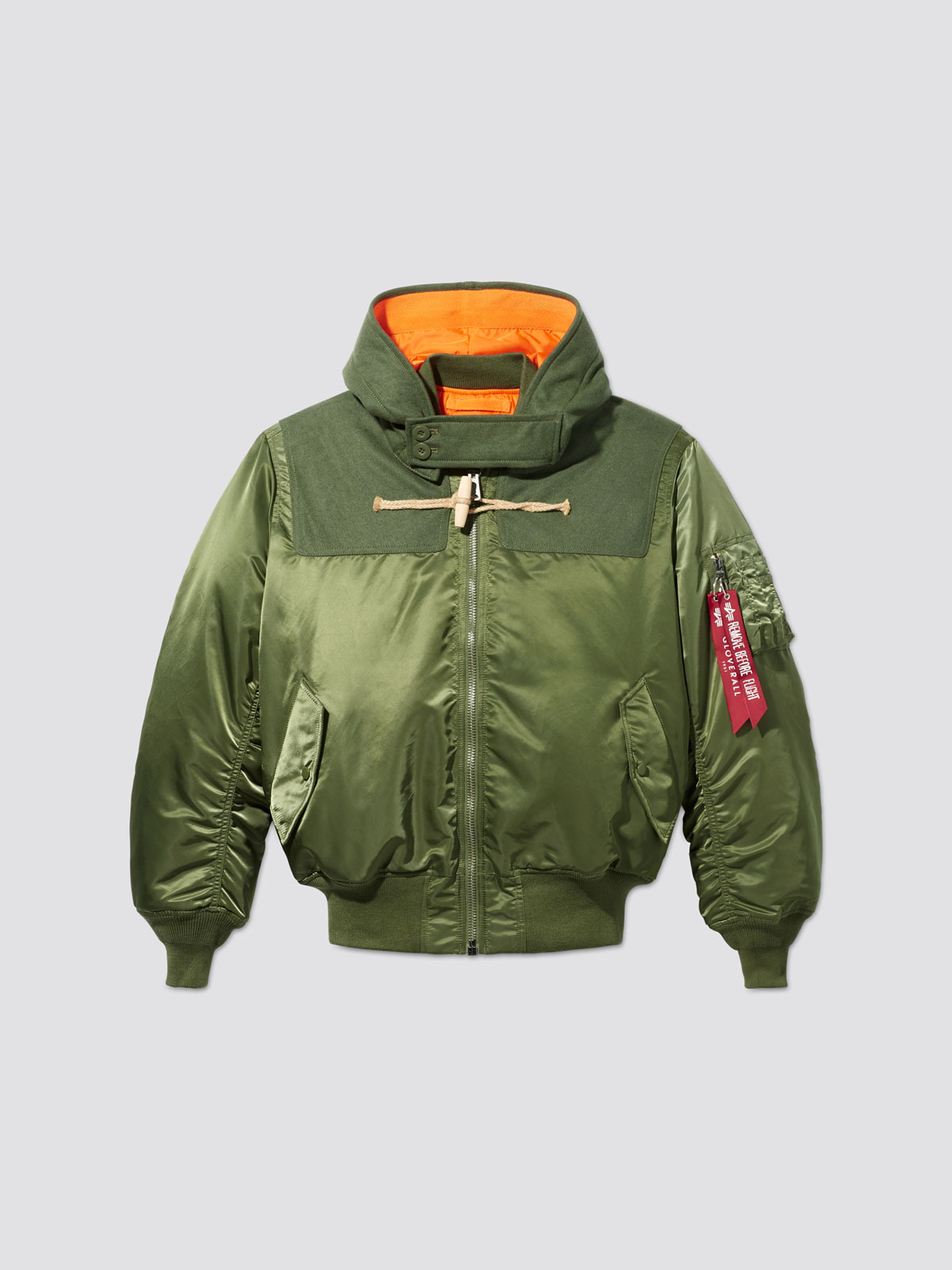Alpha Industries x Gloverall