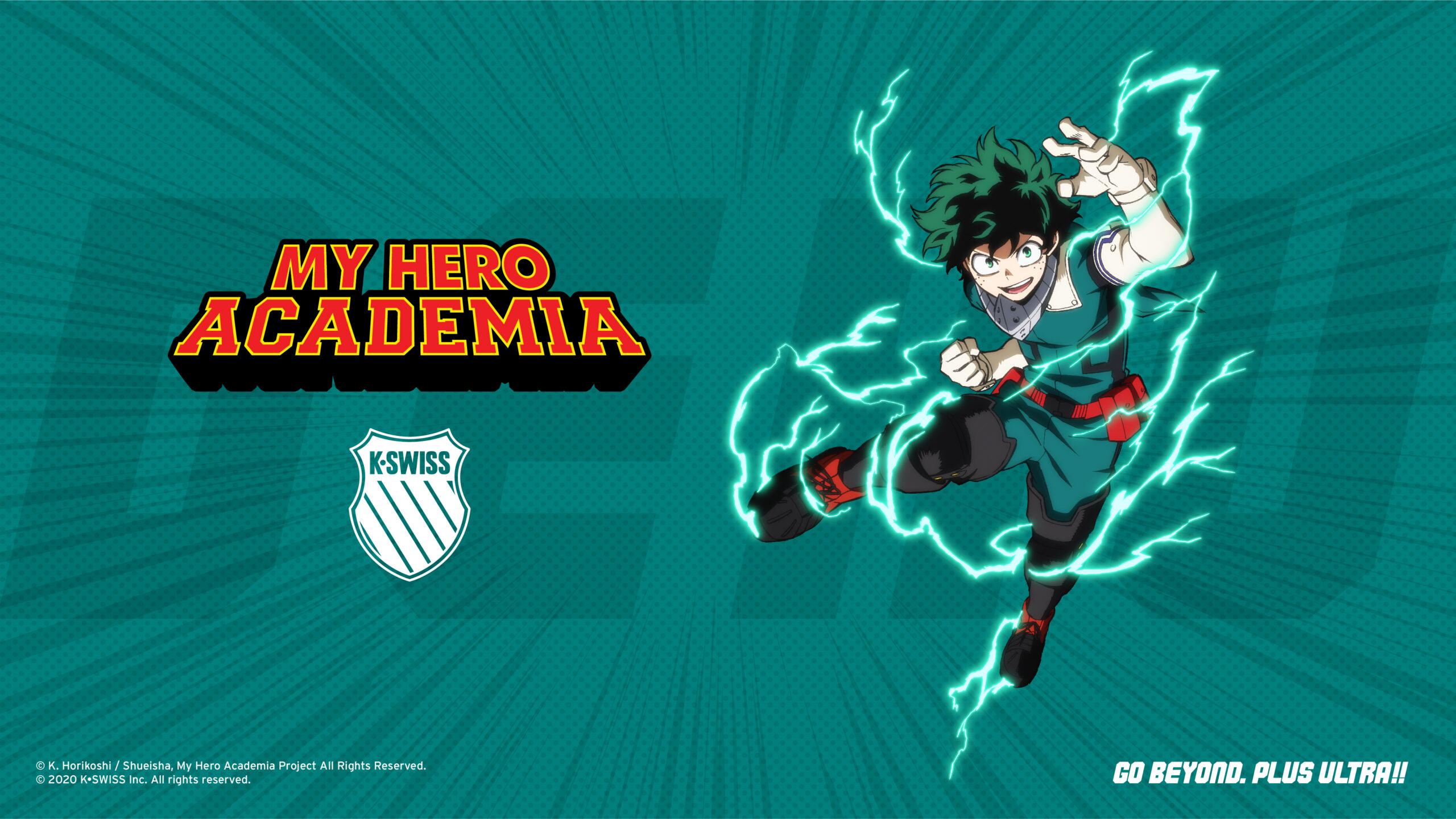 My Hero Academia x K-Swiss