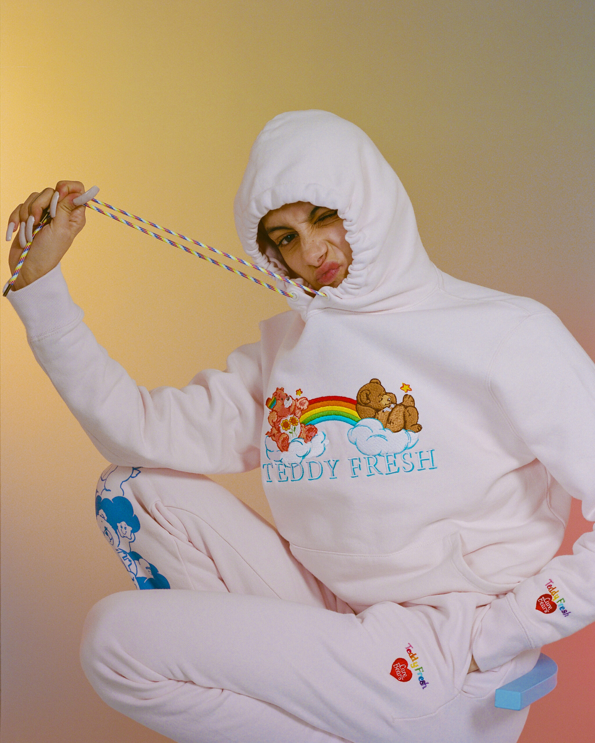 Teddy Fresh x Care Bears