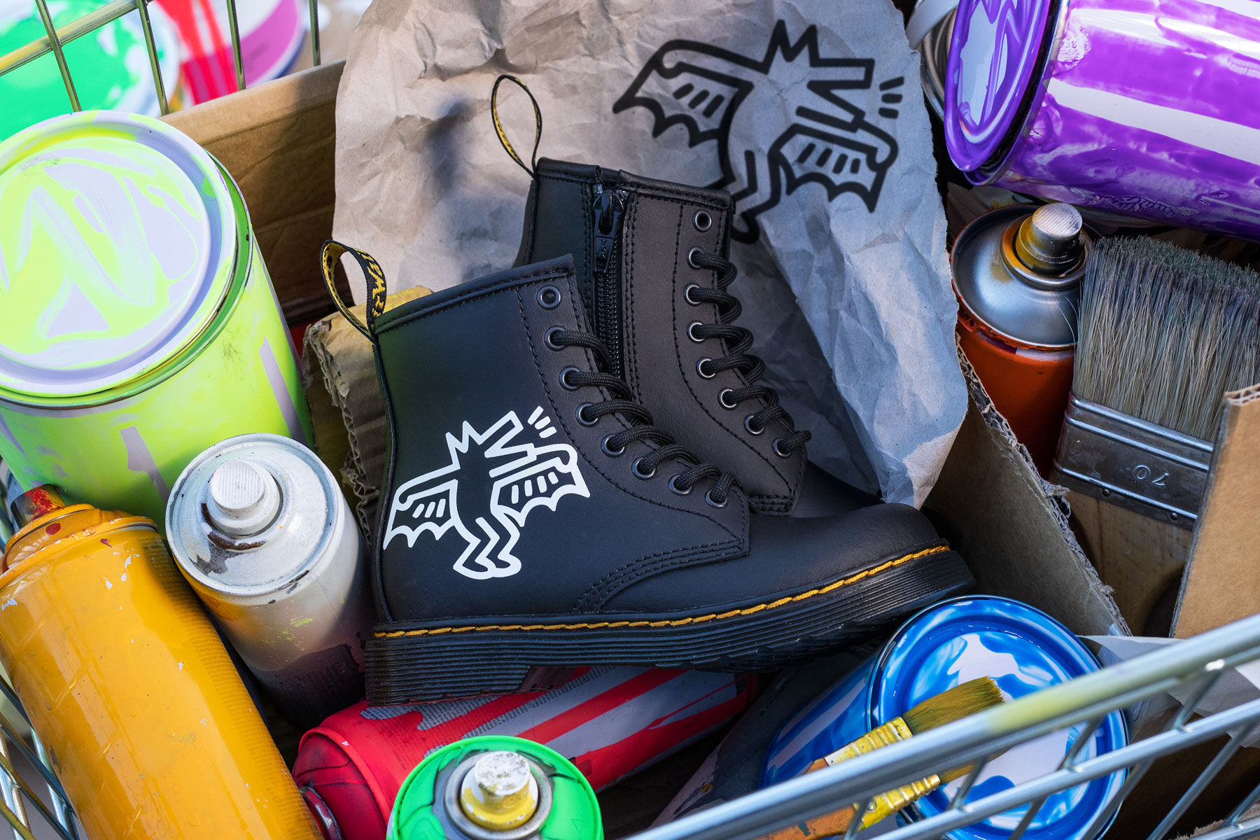 Dr. Martens x Keith Haring collection