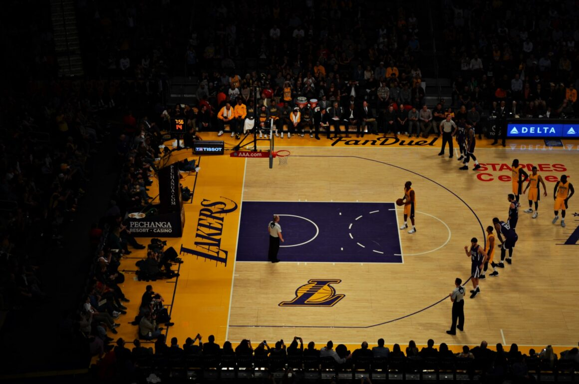 Lakers game