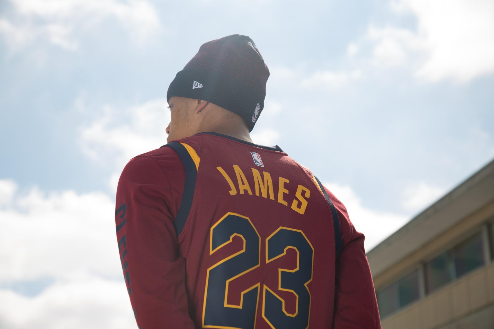 LeBron James fan