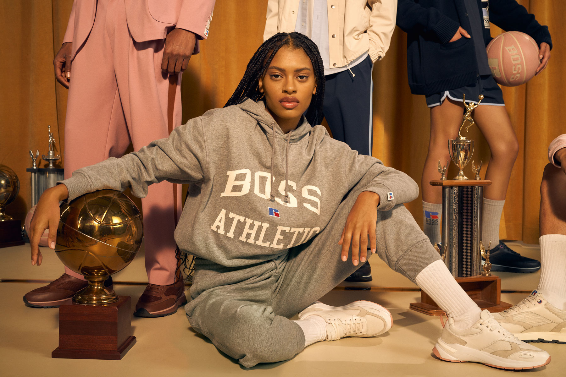 Russell Athletic x BOSS