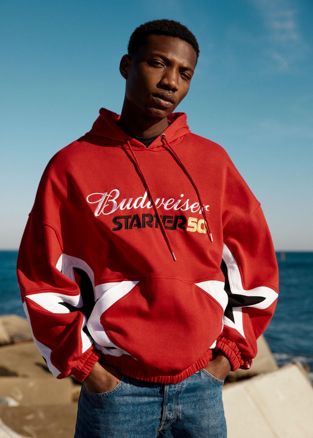 Starter x Budweiser