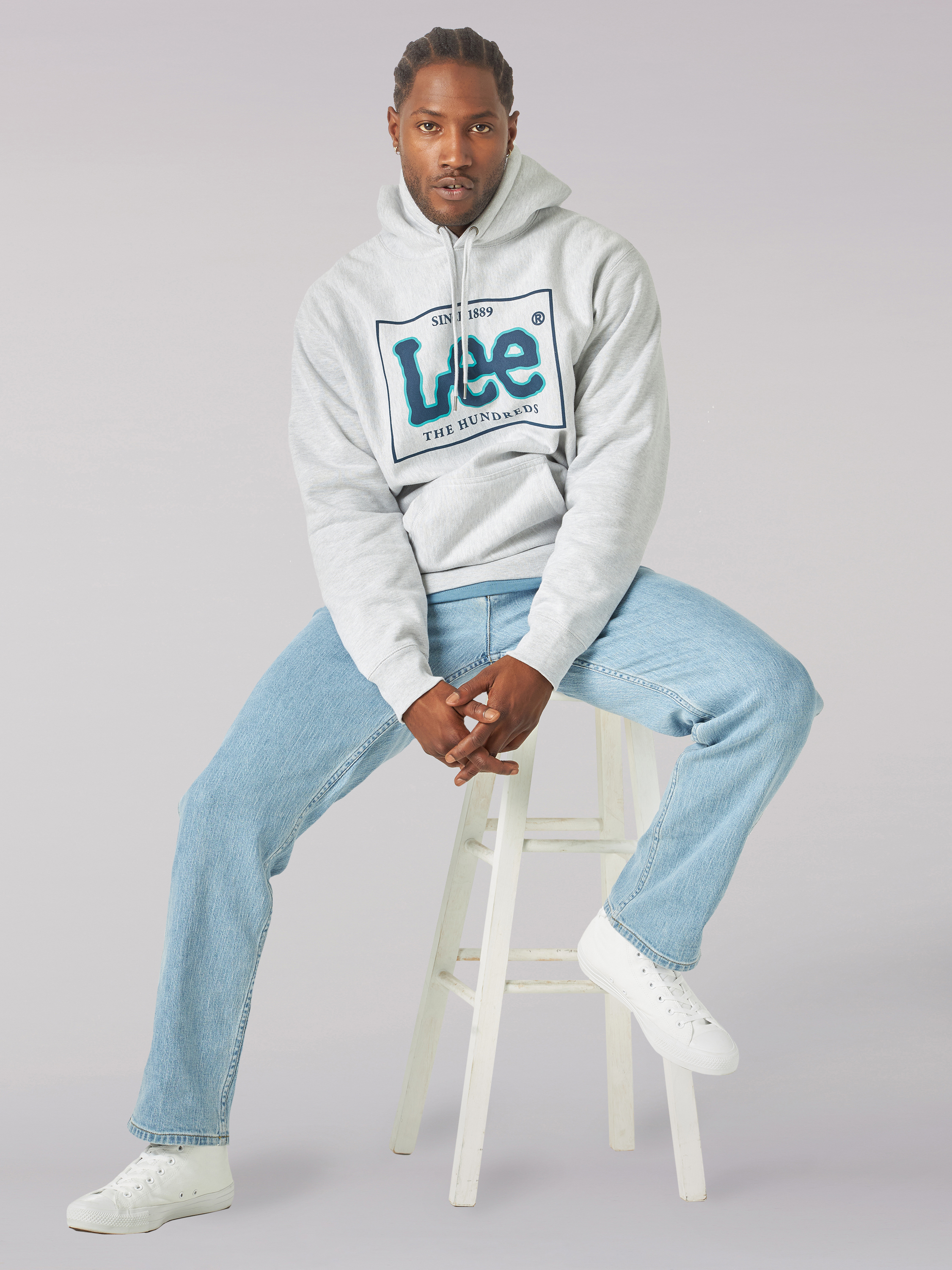 The Hundreds X Lee collection