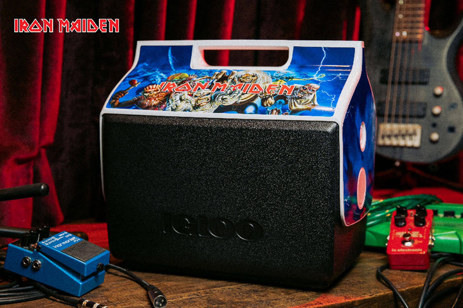 Iron Maiden Playmate cooler