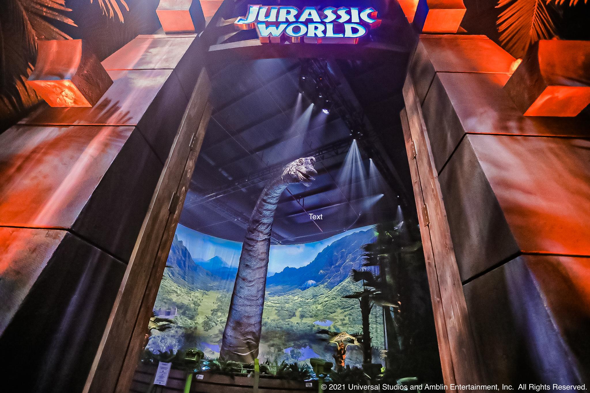 JURASSIC WORLD: THE EXHIBITION