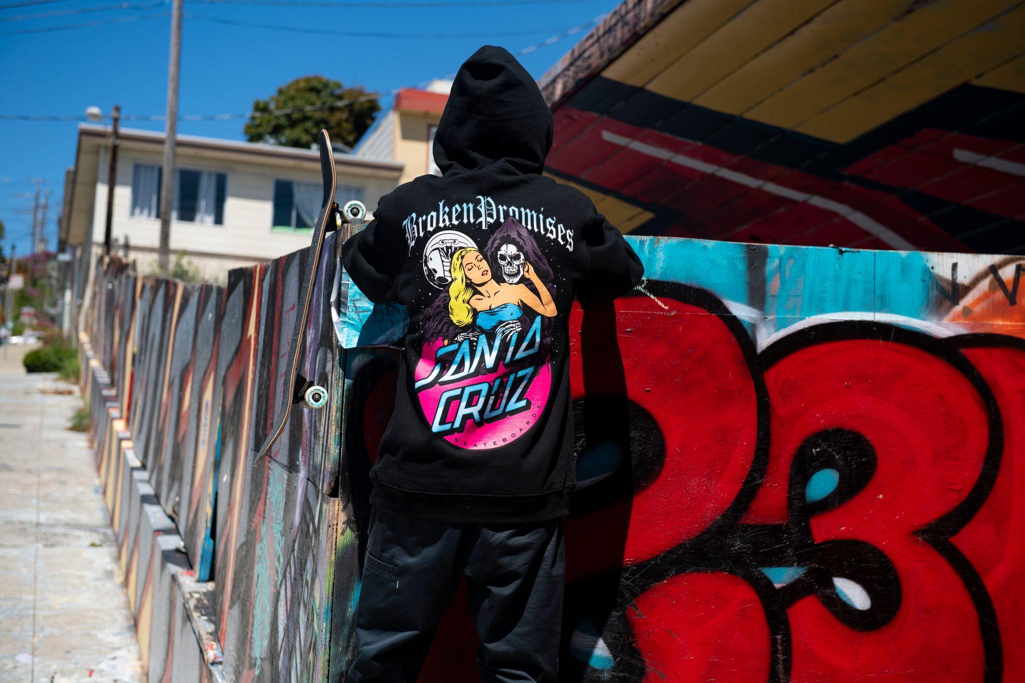 Broken Promises x Santa Cruz collection