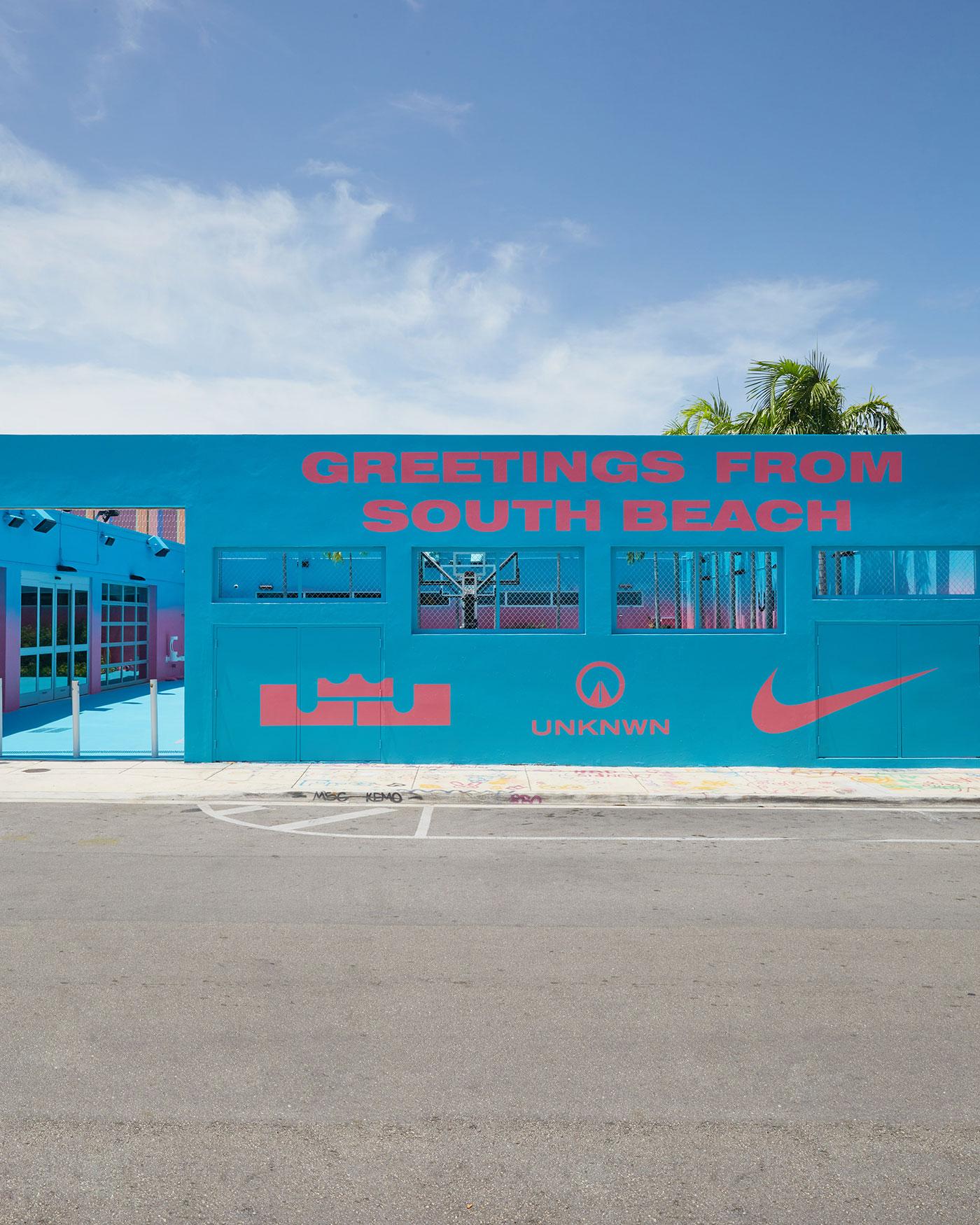 UNKNWN Nike LeBron 8 Basketball Court