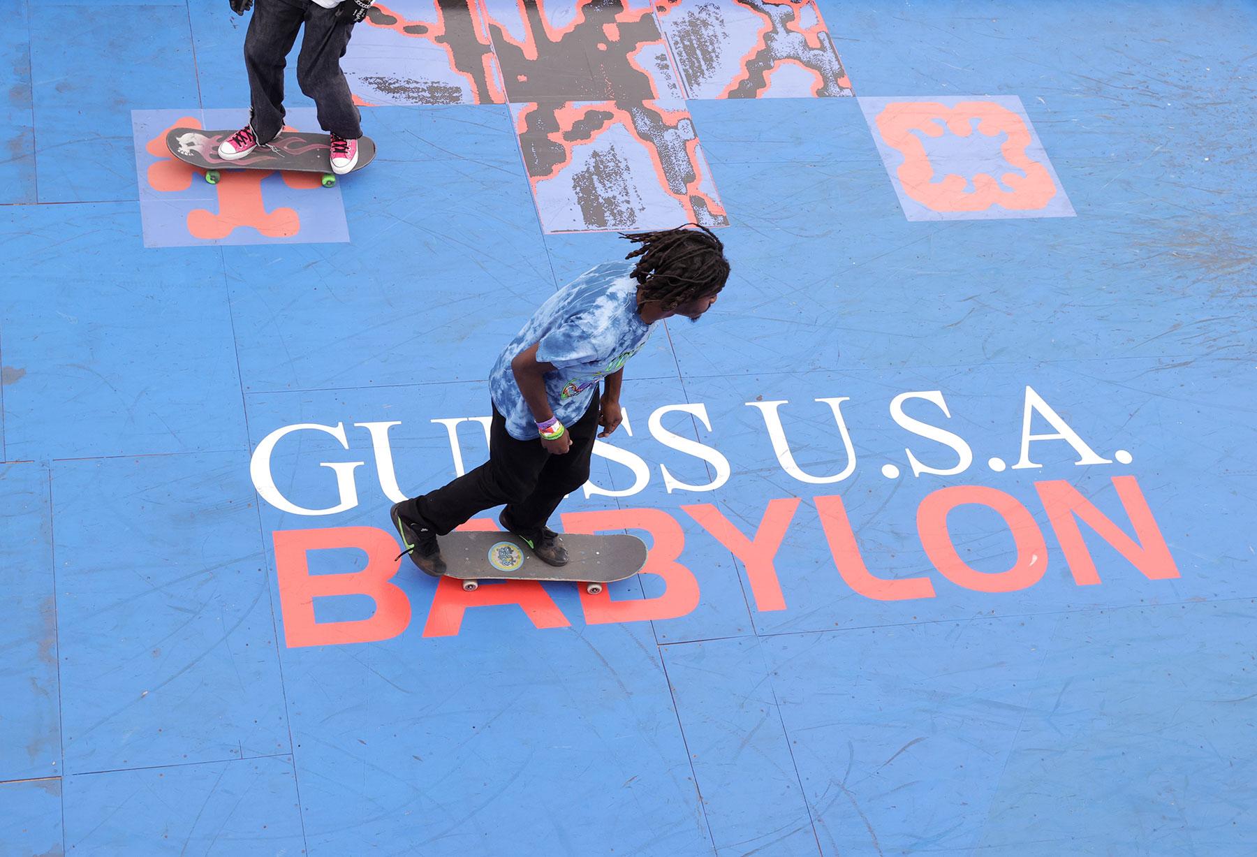 GUESS USA X BABYLON