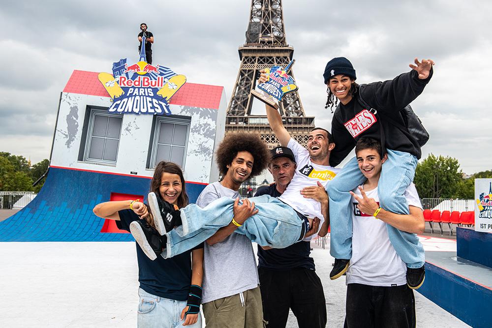 Trevor McClung Wins Red Bull Paris Conquest