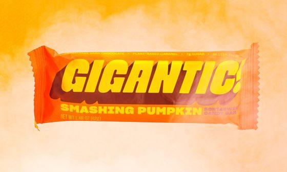 GIGANTIC! Candy Pumpkin