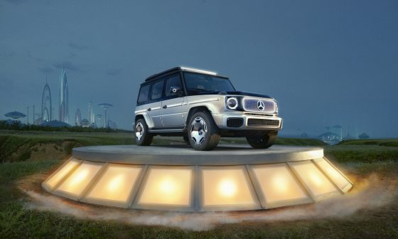 mercedes-benz g-class concept car